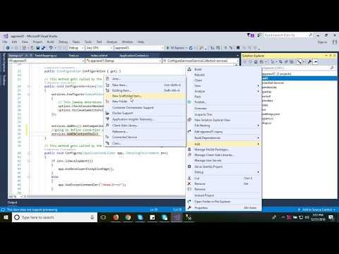 #4 create a database model in EF Core Code first Approach, ASP DOT NET CORE