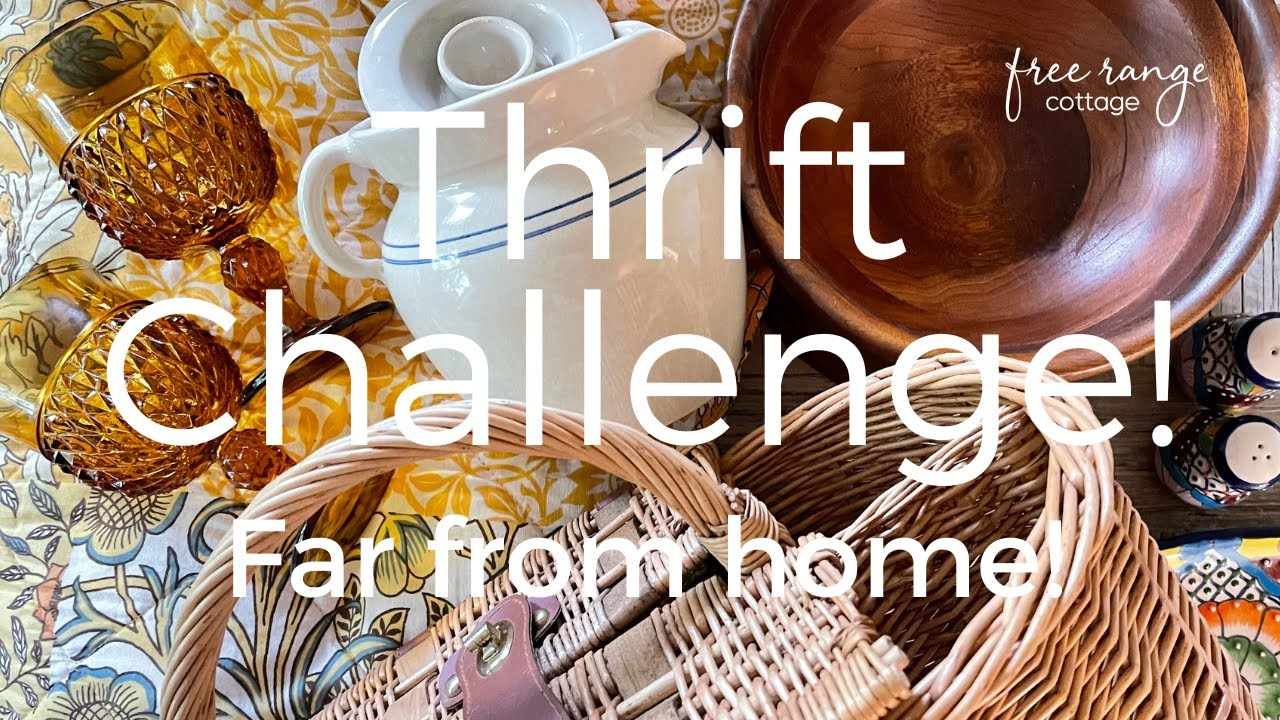 Thrift With Me + Thrift Haul: All Day Thrifting Farmhouse & Cottage Home Decor!