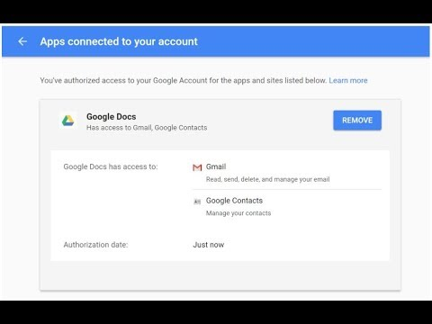 how to remove connected  website or app access from google account (gmail)||technical support
