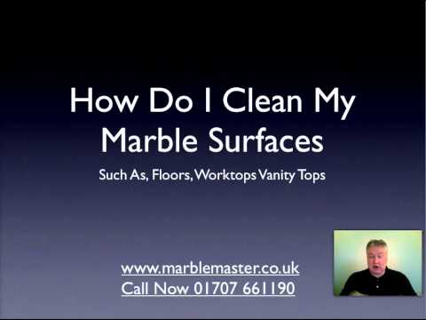 How To Clean Marble Tiles Properly