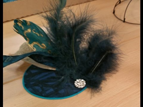 Terry McFeely Shows How To Make a Fascinator Hat on It's Sew Easy (902-2)