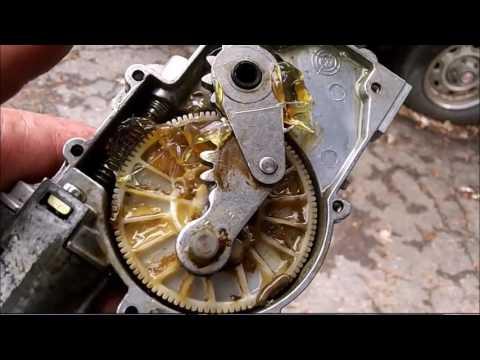 How to repair a stuck/seized rear wiper motor.Mercedes Ml320,430.500  W163