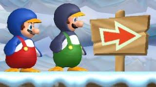 NEW Super Mario Bros  Wii 100% Walktrought World 2-4! ALL