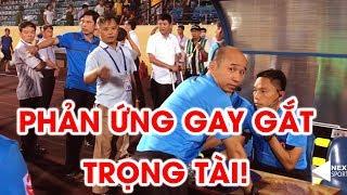 BLĐ DNH Nam Định phản ứng trọng tài sau trận thua Viettel   NEXT SPORTS