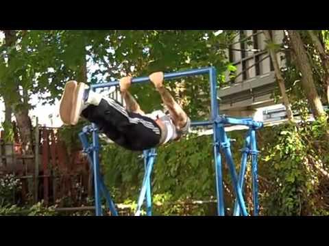 Building a Backyard Pull-up Bar
