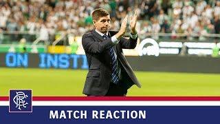 REACTION | Steven Gerrard | 22 Aug 2019