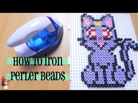 How to Iron Perler Beads Perfectly Tutorial