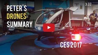 CES 2017 Drones