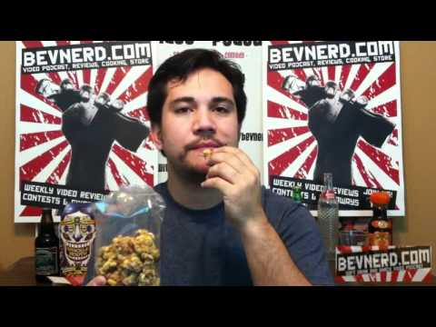 Snackle Mouth - Peanut Cranberry Granola Nut Clusters Review Video (BevNerd Ep89)