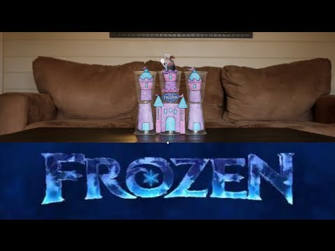 How To Make a Frozen Castle Party Game