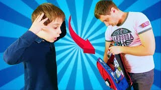 Download Что ЭДИК ПРИНЕС СО ШКОЛЫ??? Странная находика в рюкзаке // скетчи для детей Video