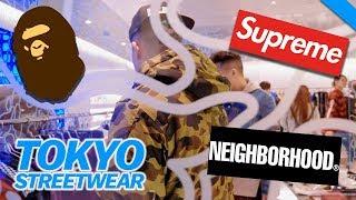 SUPREME, BAPE & JAPANESE STREETWEAR IN TOKYO // Fung Bros World Tour