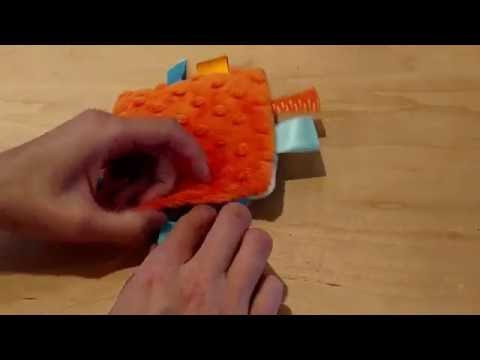 How to sew a crinkle toy