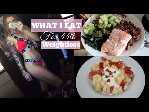 44lb Weightloss: What I Eat in a Day I