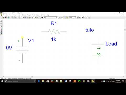 Creating Subcircuit in Pspice and transient analysis
