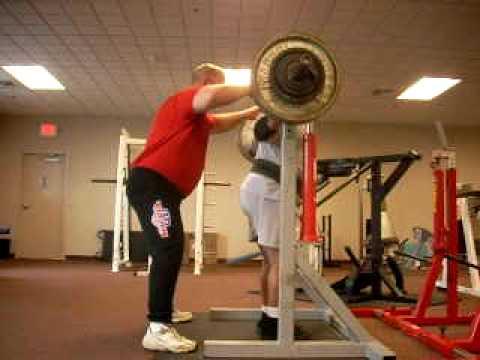 Jake Burke - 380 Pound RAW Squat @ 65 YOA!!!!