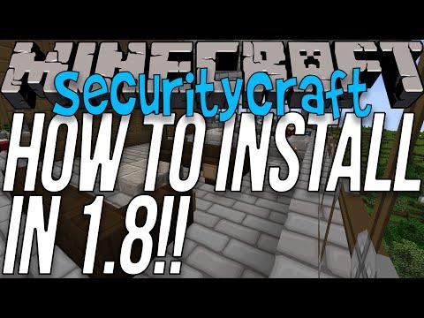 How To Download & SecurityCraft In Minecraft 1.8