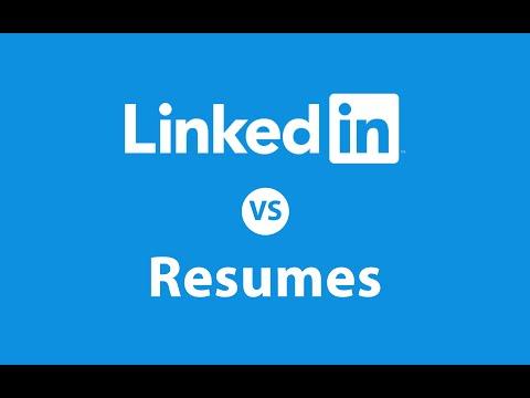 LinkedIn vs Resume: Who Wins the Battle?