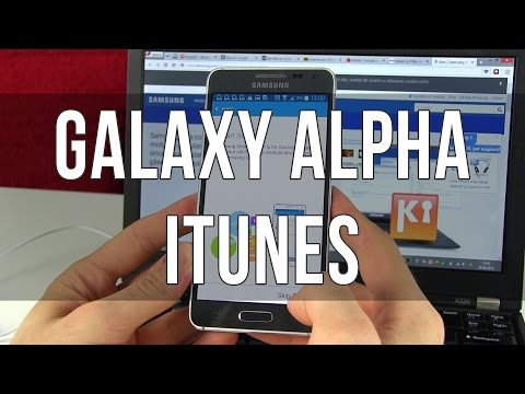 Samsung Galaxy Alpha: How to transfer music/contacts from iTunes/iCloud