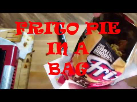 FRITO PIE IN  BAG, RICHARD IN THE KITCHEN