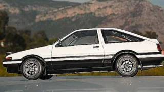 THE FAST AND THE FURIOUS TOKYO DRIFT TOYOTA AE86 TRUENO TUNING 1/18 By AUTOart