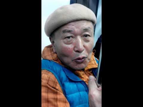 Korean uncle sing malay song