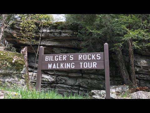 Drone Shots and Rock Climbing at Bilger's Rocks!