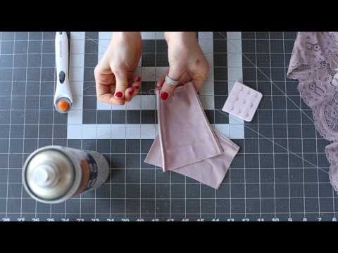 DIY Lingerie I Sewing Your Own Bra Tutorial I Back Band Alteration