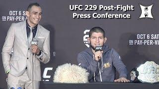 UFC 229: Khabib Nurmagomedov vs Conor McGregor Post Fight Press Conference (LIVE! / HD)