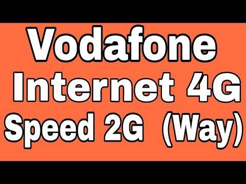 Fix Vodafone internet 4G But Speed 2G Internet