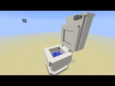 Toilet in Minecraft