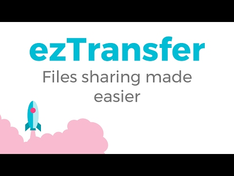 Install and share your first files of Google Drive with ezTransfer