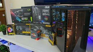 New $2000 Ryzen 1800X RGB PC | Time lapse Build 2017 (Sponsored)