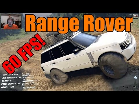Spin Tires | 60 FPS! | Range Rover Sport vs Blackwater Raceway | Facecam