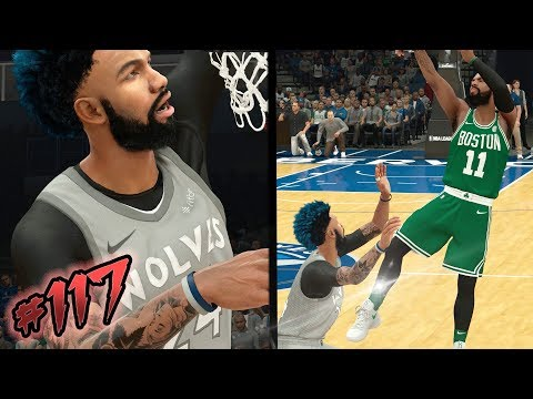 NBA 2k18 MyCAREER S2 - Kyrie Irving Tries to Snap my Ankles! Boston in Trouble! Ep. 117