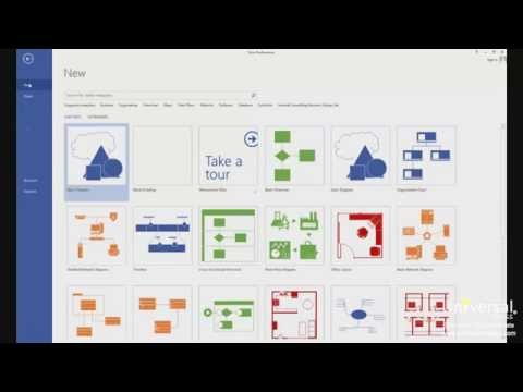 Creating Network and Rack Diagrams with Microsoft Visio 2013   Universal Class
