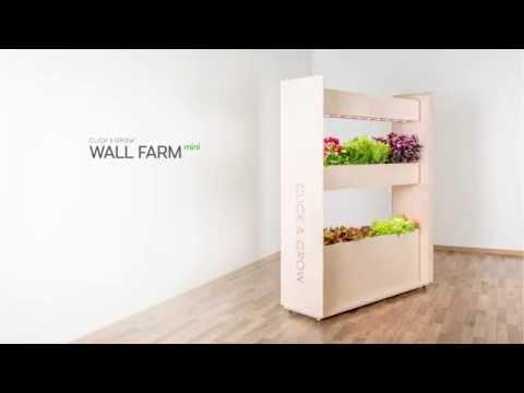 The Click & Grow Wall Farm mini: 360