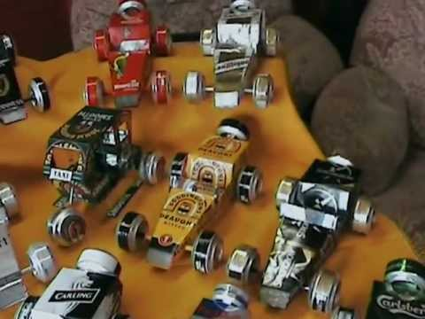 Beer-can Model Cars