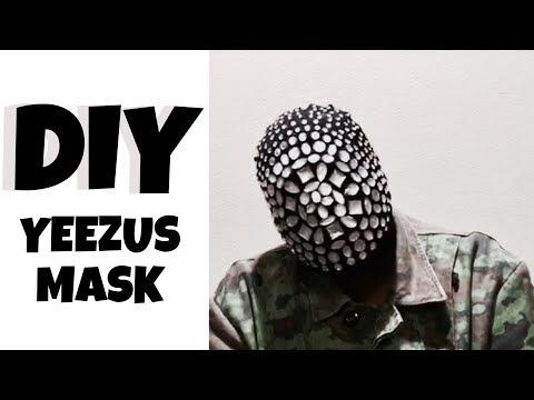 DIY YEEZUS MASK