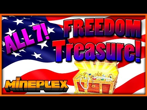 FREEDOM TREASURES! Mineplex Chest Opening! (All 7!)