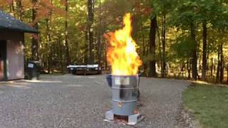 burn barrel test