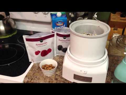 Healthy Ice Cream Recipe with Almond Milk