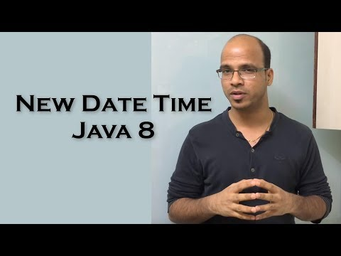 17.22 New Date Time Api in Java 8