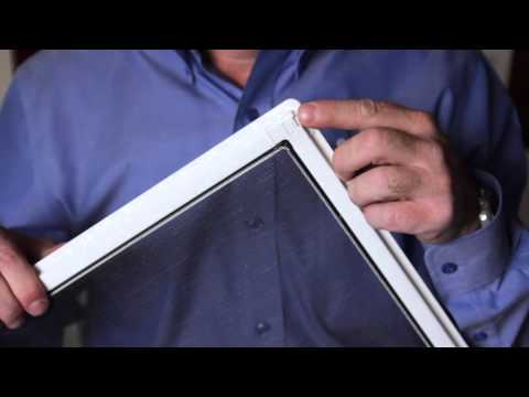 How to Remove a Window Screen For Cleaning