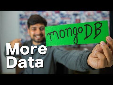 Getting more data in #mongodb