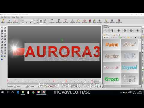 How to Convert 2D SVG Image to 3D by Aurora 3D Text & Logo Maker