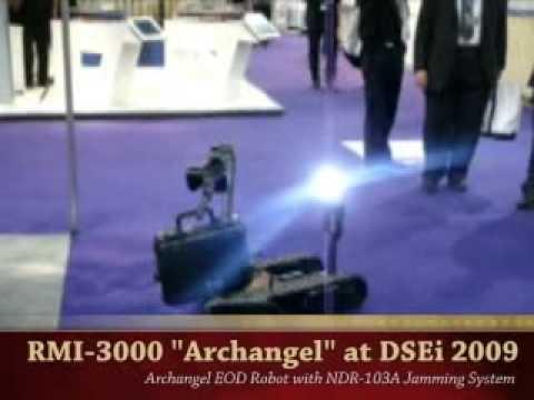 RMI- 3000 Archangel EOD Robot - United Kingdom