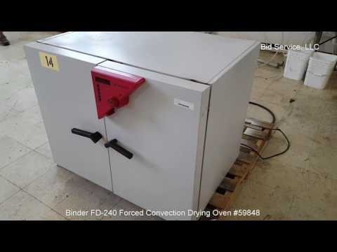 Binder FD-240 Forced Convection Drying Oven #59848