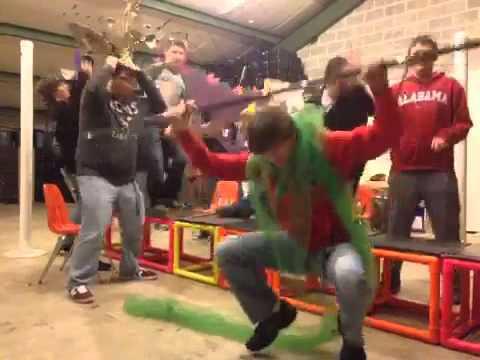 Drumline Harlem Shake!!