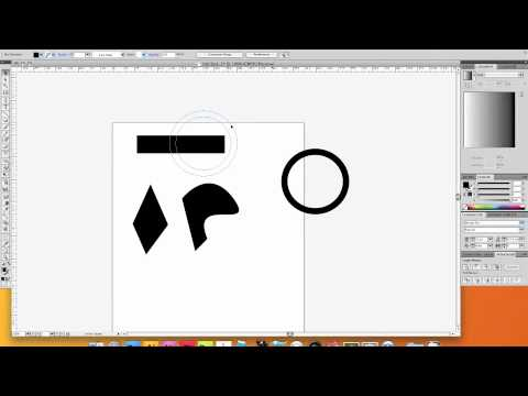 How to Combine Simple Shapes with pathfinder in adobe Illustrator CS4 CS5